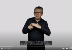Mental Health video resources in Scotland